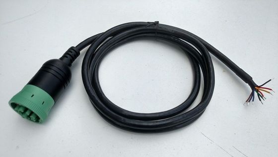 Cina Female to Open End CAN Bus Cable Tipe 2 konektor Untuk Truk Heavy Duty pabrik